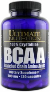 BCAA 500 mg Capsule Ultimate Nutrition 120 capsule