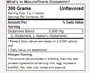 MusclePharm-Glutamine-Supplement-Facts-dewafitnes1