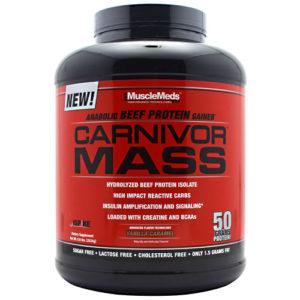 Carnivor Mass Gainer 5.97lb 6 Lbs Musclemeds dan Carnivor mass 10 Lbs