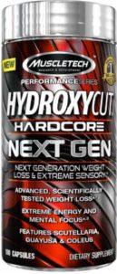 Hydroxycut Next Gen 100 capsule ( warna capsule merah )