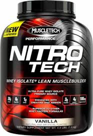 Nitrotech 4 Lbs BPOM Performance Series Muscletech
