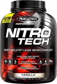 Nitrotech 4 Lbs BPOM Performance Series Muscletech