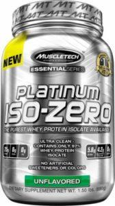 Platinum Iso Zero Muscletech 2Lbs