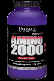 Amino 2000 Ultimate Nutrition 330 Tablet BPOM