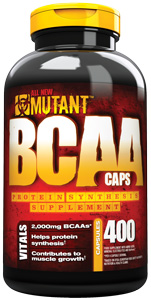 BCAA MUTANT 400 capsule