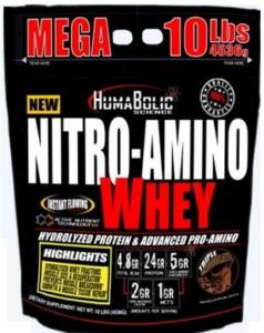 Whey Nitro Amino 10lbs Humabolic