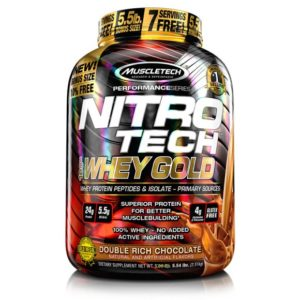 Nitrotech Gold 6 lb Muscletech Whey Protein