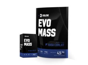 Evomass Gainer Evolene BPOM HALAL 2 Lbs dan Evo Mass 10 Lbs