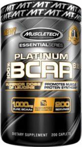 Muscletech Platinum BCAA isi 200 caplets